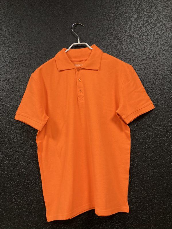 Поло мужское Classic оранжевое