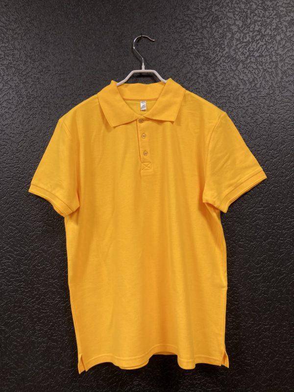 Поло мужское Classic желтое