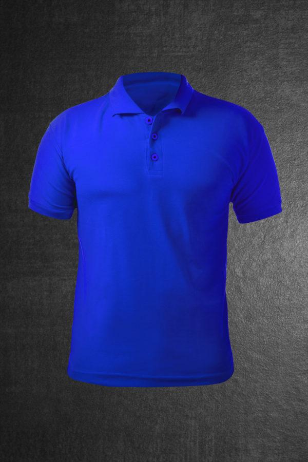 Поло мужское Classic синие